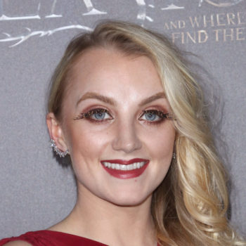 """Harry Potter"" star Evanna Lynch just dazzled in a retro-witch dress that's truly magic"