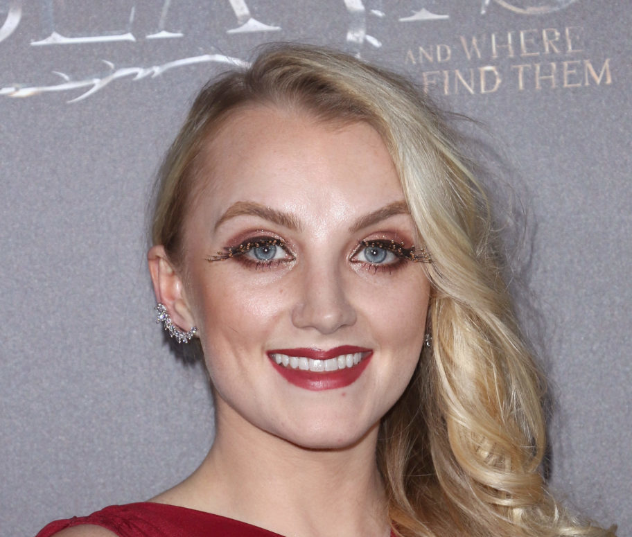 """""""Harry Potter"""" star Evanna Lynch just dazzled in a retro-witch dress that's truly magic"""