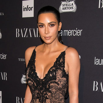 Kim Kardashian wore a lip ring at an awards ceremony, so this must be something we all need to do now
