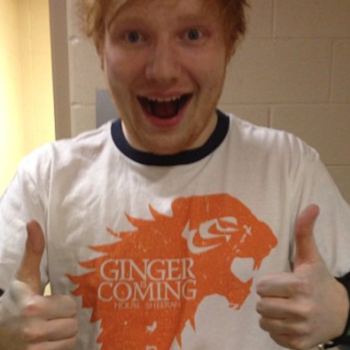 """Ed Sheeran is joining """"Game of Thrones"""" Season 7, and yes, you read that right"""
