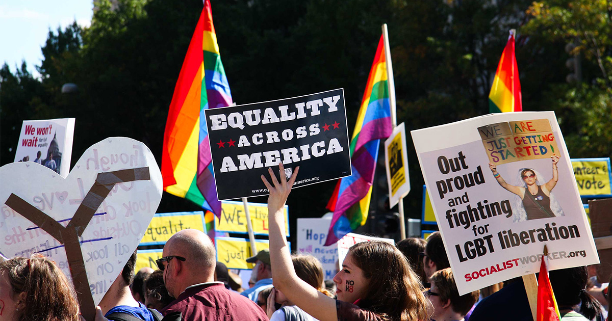 Here's how most Americans feel about LGBTQ rights (spoiler, it's pretty rad!)