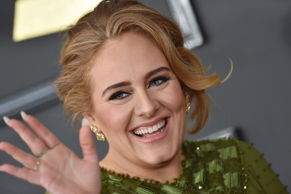 Adele told jokes onstage during a power outage at one of her shows, because of course she did