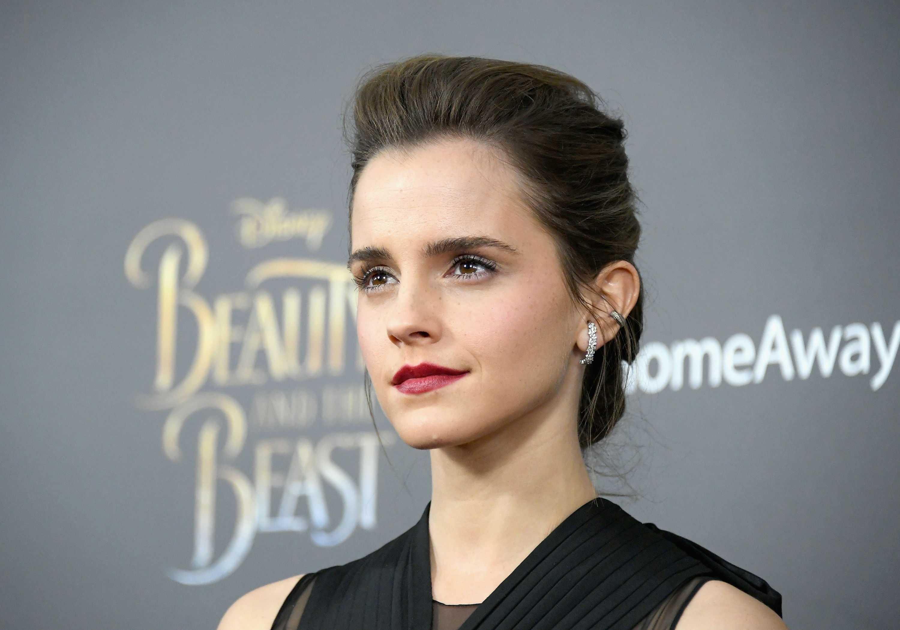 Emma Watson surprised us with this anti-Belle look