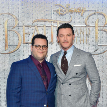 """Josh Gad has a pretty great idea for a """"Beauty and the Beast"""" spinoff all about Gaston and Lefou"""