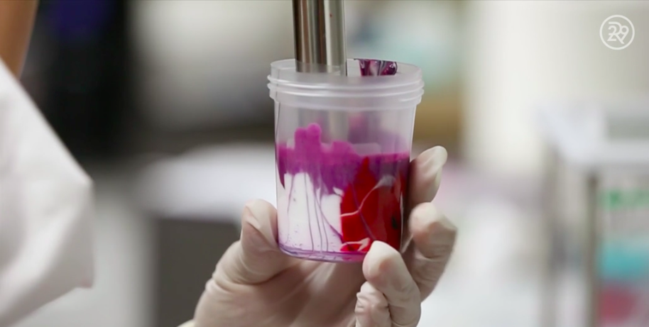 This video shows how nail polish is made, and it's proof that science is magic