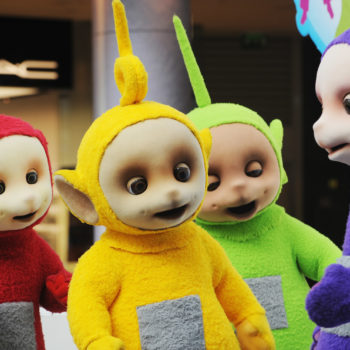 """Someone mixed Teletubbies with Missy Elliott's """"Get Ur Freak On,"""" and we're not sure how to feel about this"""