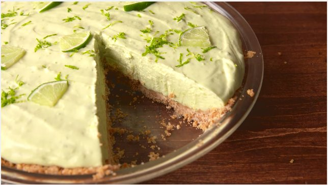So avocado cheesecake is a thing, and we're open to trying it