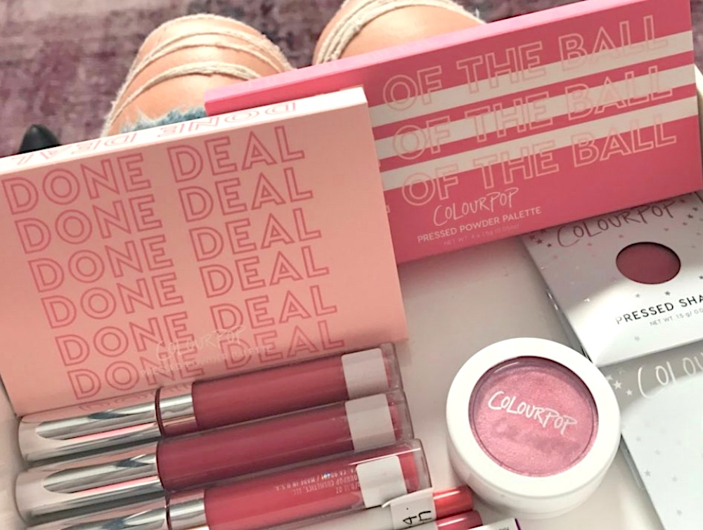 Here's the official lowdown on the millennial pink phase of ColourPop's new collection