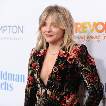 """Chloë Moretz is really owning the whole """"straight out the shower"""" wet hair look"""