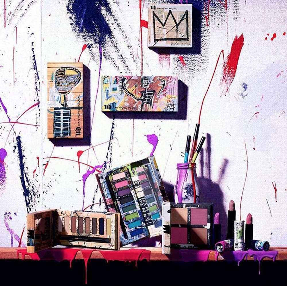 The Urban Decay and Jean-Michel Basquiat collaboration proves makeup really is art