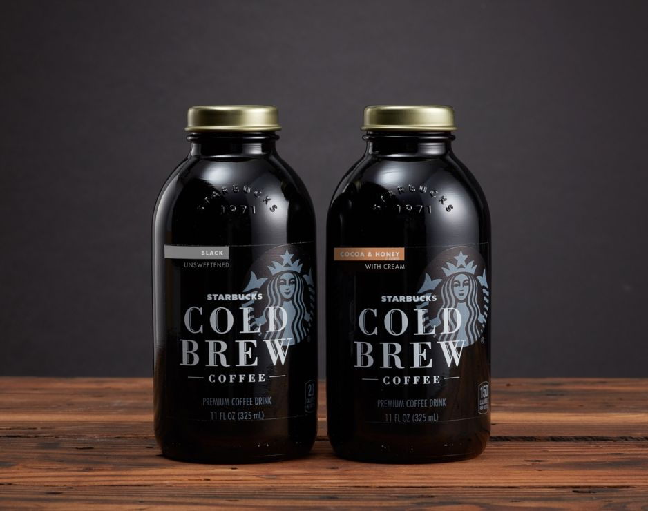 Starbucks Coffee Cold Drink Can