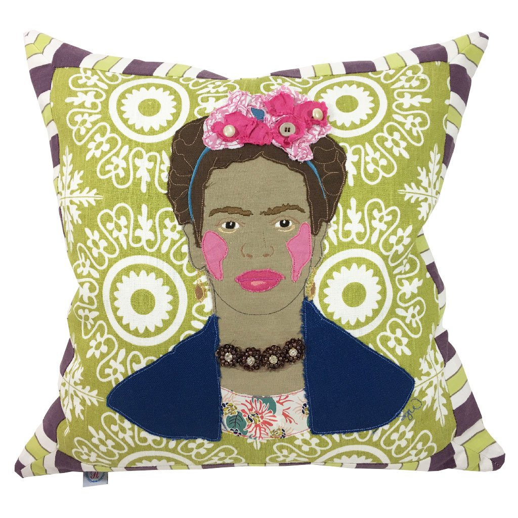 You can now buy a pillow featuring your female idol's face, in the name of feminist home decor
