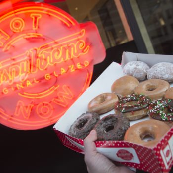Get ready, Krispy Kreme will be selling GREEN donuts on Friday