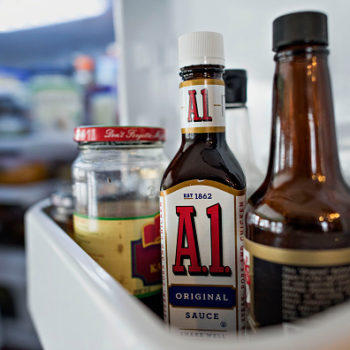 Someone is mysteriously hiding A1 sauce bottles inside an Ohio library and people are stumped