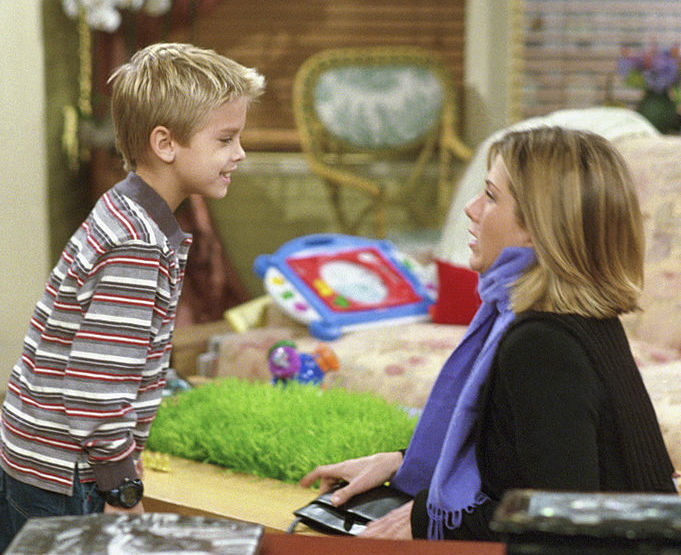 "Cole Sprouse says that working with Jennifer Aniston on ""Friends"" wasn't as easy as it seemed"