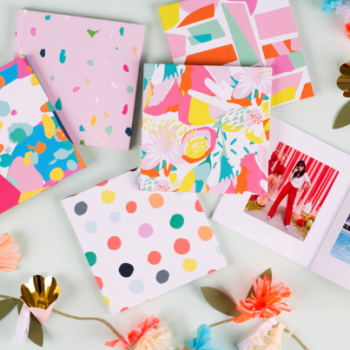 Our photo albums can now get that whimsical Oh Joy! touch with this new Chatbooks collab