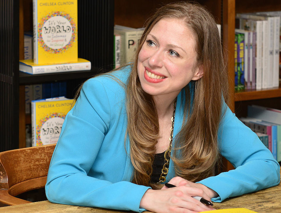 "Chelsea Clinton is releasing a new children's book called ""She Persisted""!"