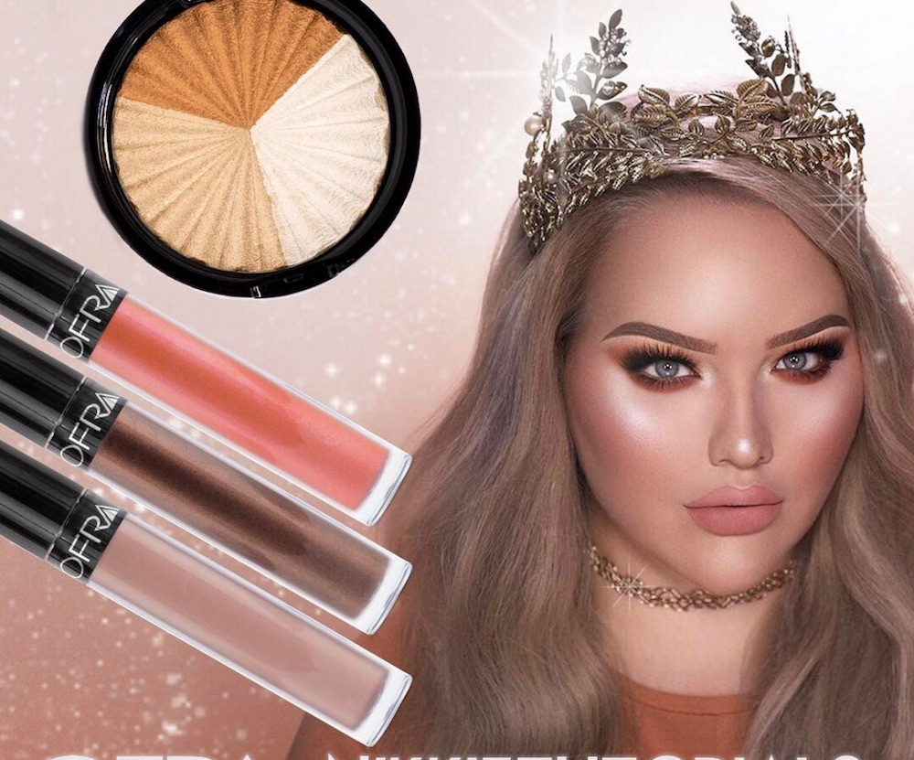 Beauty vlogger Nikkie Tutorials is collaborating with Ofra Cosmetics, and it launches soon