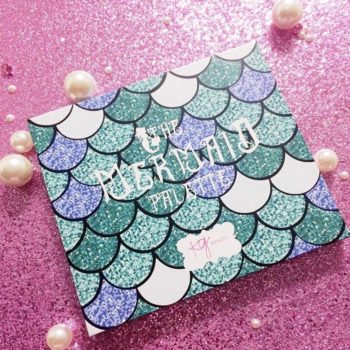 There's another mermaid palette, but this one will turn you into a sea siren AND support a good cause
