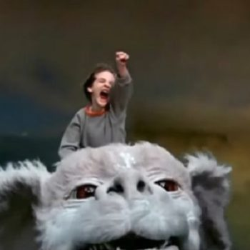 """This performance of """"The Neverending Story"""" theme song is the most '80s thing we've ever seen"""