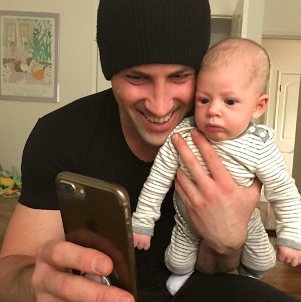 """""""DWTS's"""" Maksim Chmerkovskiy revealed he had to take baby Shai to the ER, and it sounds very scary"""