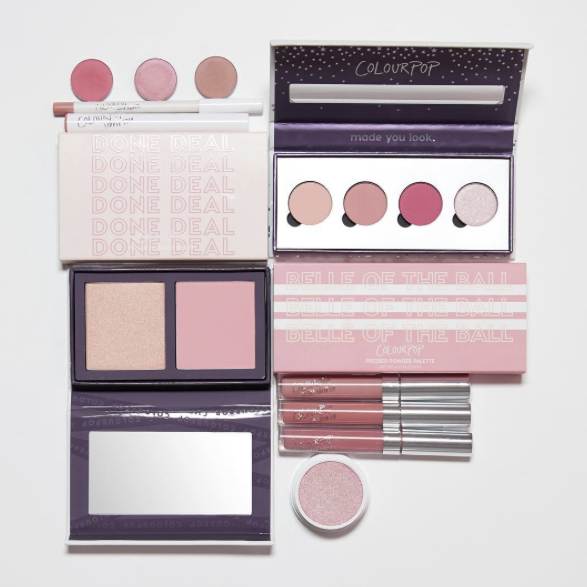 Praise to the blush-hued makeup gods: ColourPop's Pink collection launches today