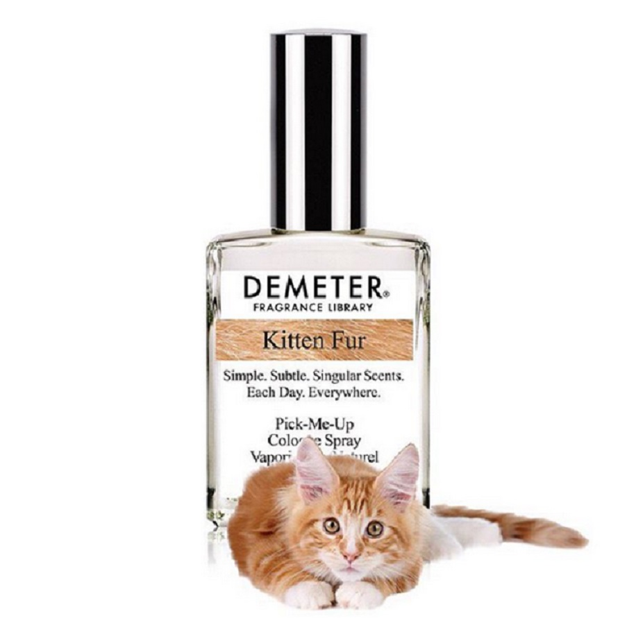 Kitten fur-scented perfume exists in case you wanna smell like cat hair