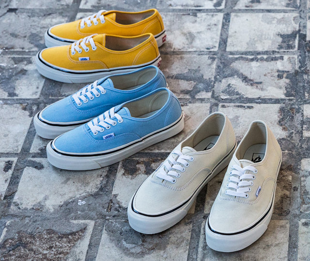 Good news for sneakerheads: you can now get your hands on OG Vans