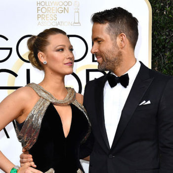 Ryan Reynolds says there's competition between Blake Lively and his BFF Jake Gyllenhaal