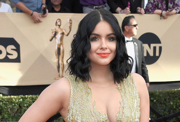 Ariel Winter is celebrating St. Patrick's Day, but it'll take you a second glance to see how