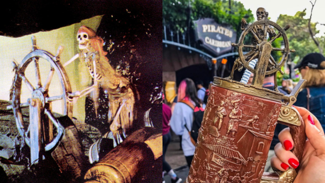 Disneyland's latest Pirates themed cup is so cool, it instantly sold out