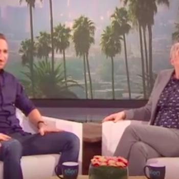 "This superfan recreated ""The Ellen Show"" by hiring an impersonator, and it's as epic as it is strange"