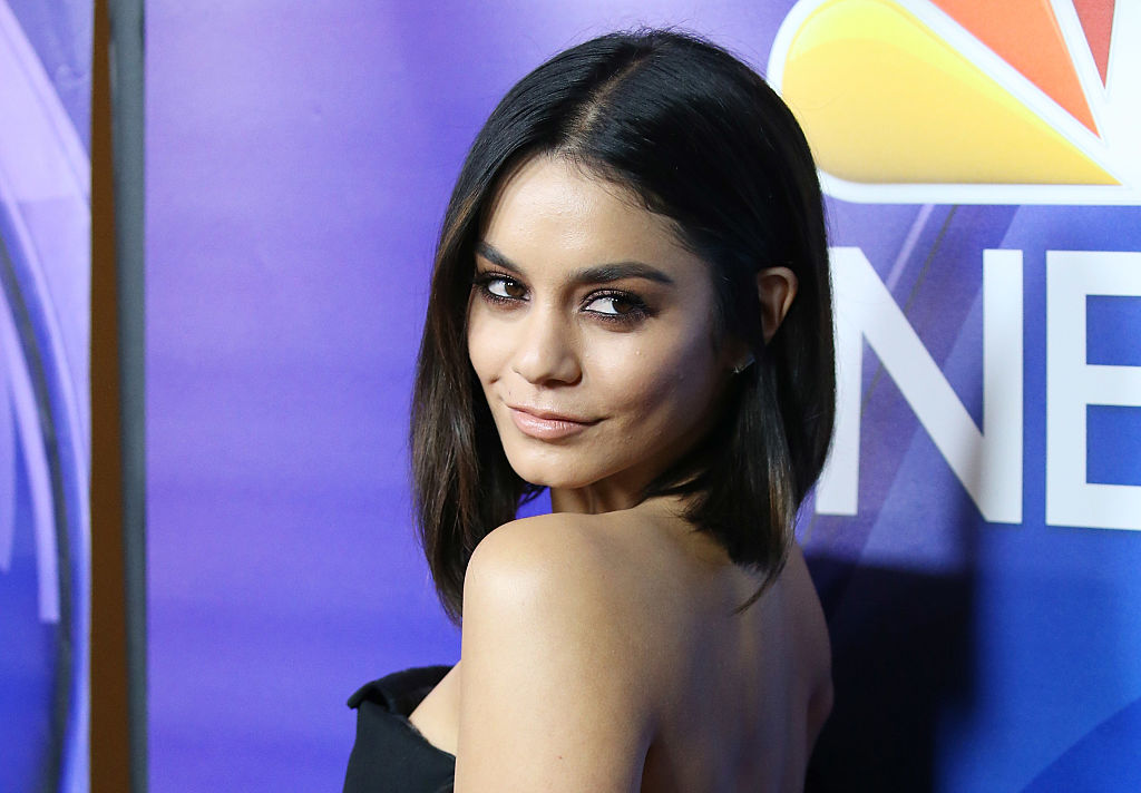 Vanessa Hudgens' star-spangled suit is completely witch-worthy