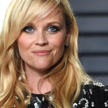 Reese Witherspoon and Mickey Mouse casually hung out at Disney, as one does
