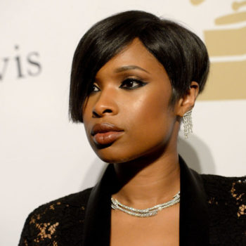Jennifer Hudson proved a bomber jacket can be as girly as a princess dress
