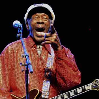 Legendary musician Chuck Berry passed away, and our hearts are with his family
