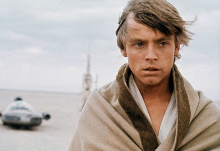 Mark Hamill just shared what might be the first-ever picture of Luke Skywalker