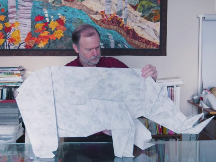 This NASA scientist-turned-origami artist's work is our ...