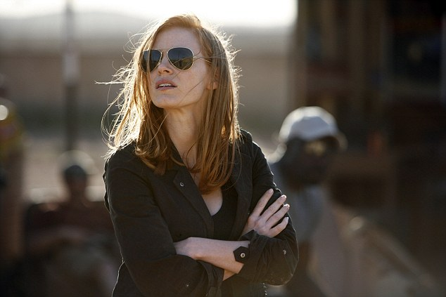 Jessica Chastain schooled this random dude about the importance of females in filmmaking