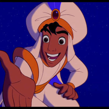 """The live-action """"Aladdin"""" will be unlike anything we've seen before since Disney ain't never had a director like Guy Ritchie"""