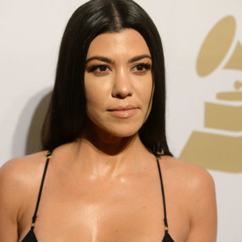 Kourtney Kardashian still has her Gucci prom shoes, and we'd wear them today tbh