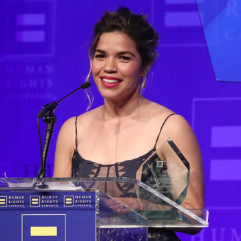 America Ferrera gave a moving and empowering speech about the LGBTQ community and minority inclusion
