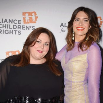 "Here's what Mandy Moore and Chrissy Metz think about a possible mother-daughter duet in ""This Is Us"""