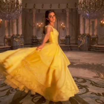 "Dan Stevens' daughter helped design Emma Watson's ""Beauty and the Beast"" dress"