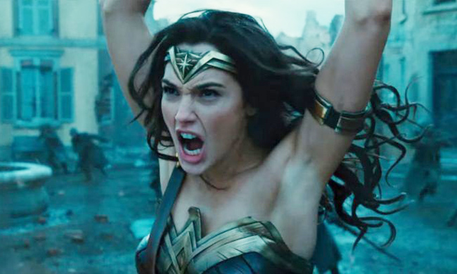 The internet is not happy with the new Wonder Woman's armpits