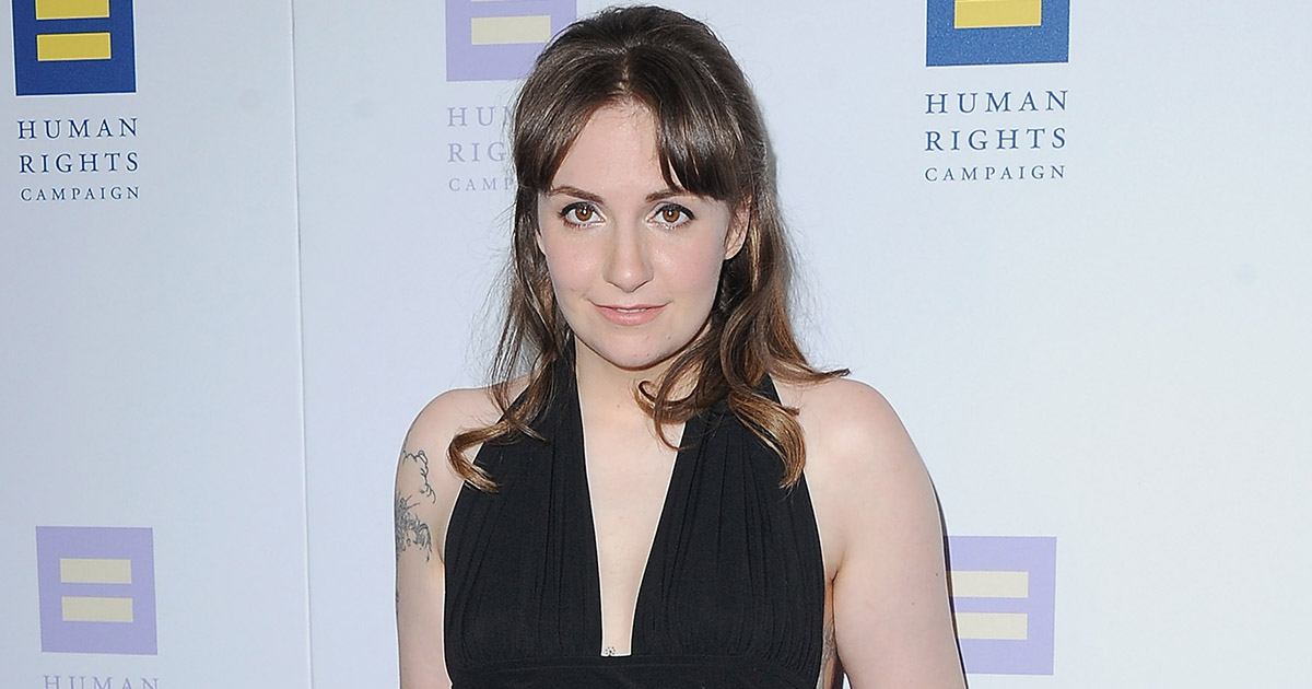 Lena Dunham perfectly schooled Perez Hilton after she was fashion shamed on the red carpet