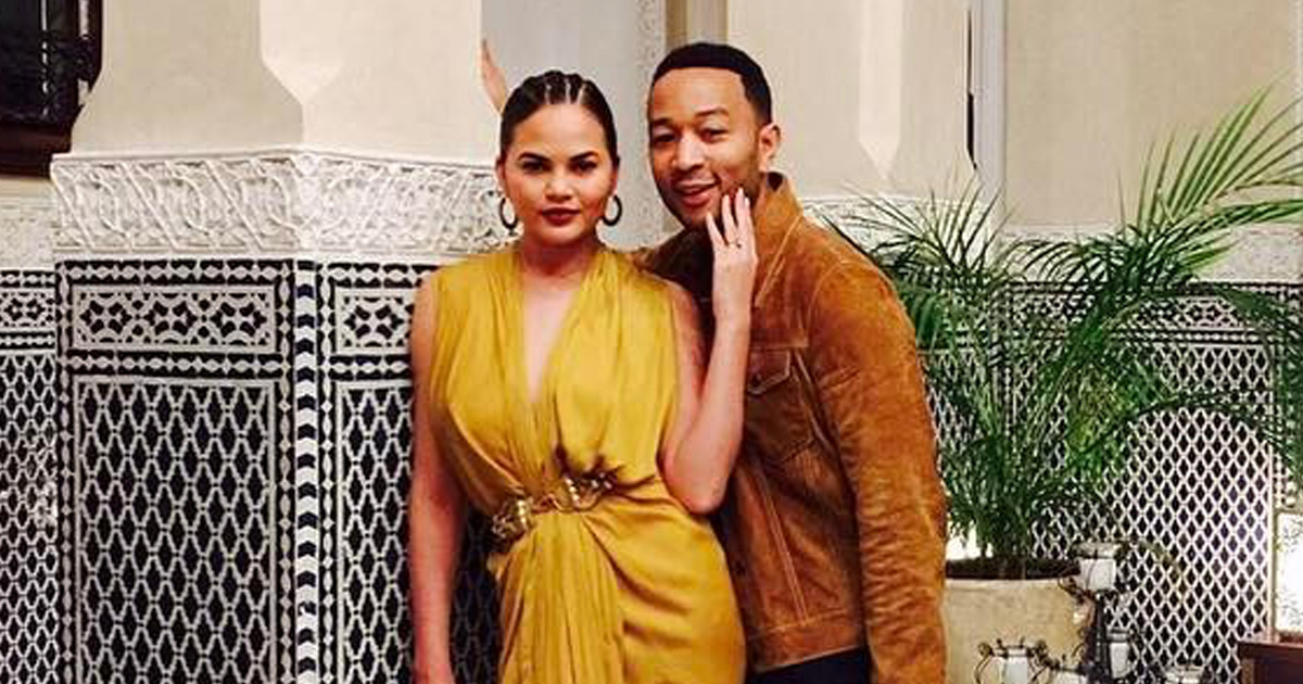 Chrissy Teigen and John Legend shared a video of Luna saying her first word, and we're melting with the cuteness