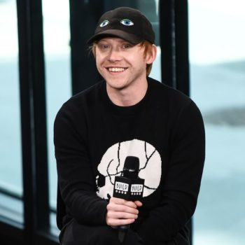 """Rupert Grint did a dramatic reading of Ed Sheeran's """"Shape Of You,"""" and it's almost too charming"""