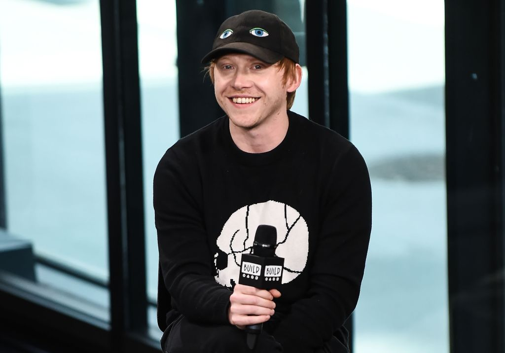 "Rupert Grint did a dramatic reading of Ed Sheeran's ""Shape Of You,"" and it's almost too charming"