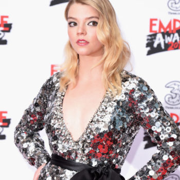 Anya Taylor-Joy is the next huge red carpet star, and this sparkling silver confection proves it